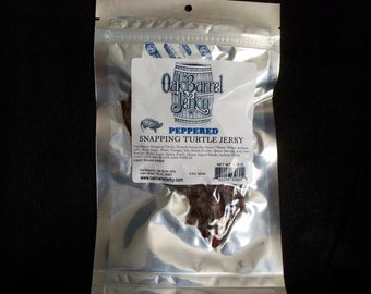 Peppered Snapping Turtle Jerky