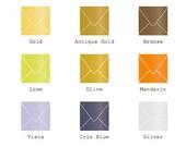 "5.5"" x 5.5"" (140mm X 140mm) Square Envelope -Metallic Finish  25/Pk"