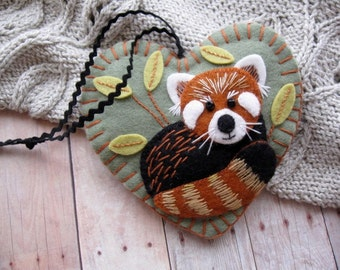 Made to Order - Red Panda Ornament
