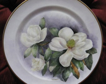 Plate, Hand Painted Wedgewood Plate