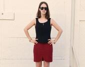 Red tulip skirt. XS / S