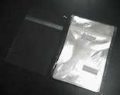 100  5 7/16 x 7 1/4 Cello Bag Protect Envelopes For Cards, Pictures and more