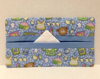 It's a Boy! Tissue Cozy/Gift Card Holder/Party Favor/Wedding Favor