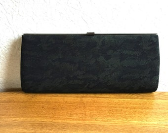 Vintage Japanese Kimono Clutch - Japanese Clutch - Bridal Clutch - Vintage Bag - Bridal Bag -  Camo Clutch