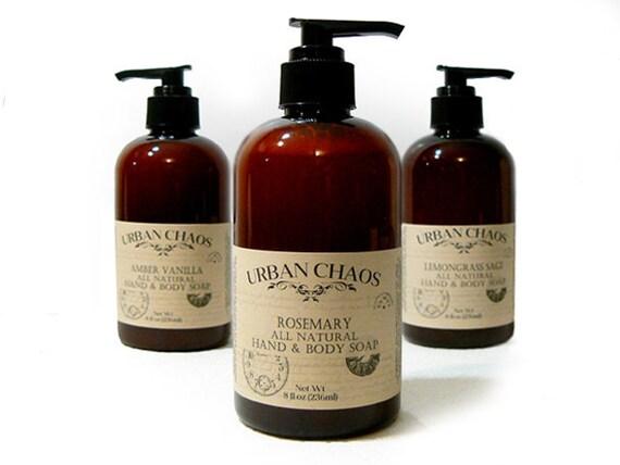 Organics Soap Rosemary Soap 8oz Organic