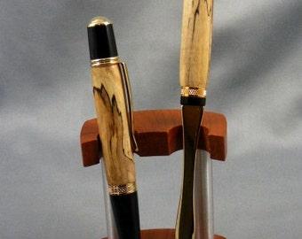 West Virginia Spalted Maple Pen and Letter Opener Desk Set