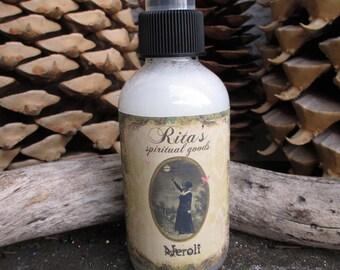 Rita's Neroli Spiritual Mist Spray - Settle Emotions, Clear negative Thoughts, Prosperity, Luv, Luck