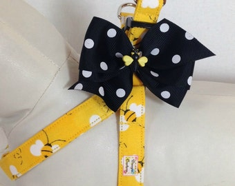 UnBeelievably Cute Dog Step In Harness Size XS through Medium by Doogie Couture Pet Boutique