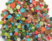1 lb Mixed Bag Mosaic Circle Tiles - Low Fired