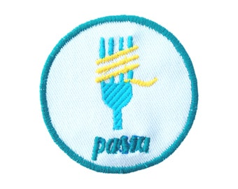 Pasta patch! Iron on by Jess Warby