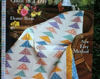 Flying Geese Quilt in a Day by Eleanor Burns