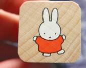 Miffy Stamp - Kodomo no Kao Bruna Stamp Series - Miffy dancing