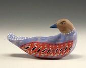 Carrie - Ceramic Bird Sculpture