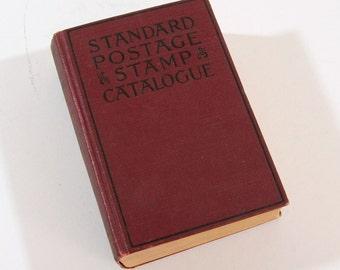 Vintage Book, Standard Postage Stamp Catalogue, 1923