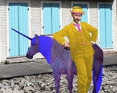 Lord Jaune Dapper and the Magickal Space Unicorn of the New Orleans French Quarter