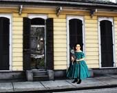New Orleans French Quarter SOME DOORS are Better Left Shut
