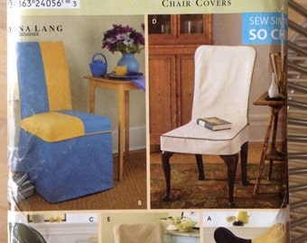 Uncut Simplicity 8261 Chair Covers Butterfly Chair Cover