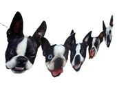 Boston Terrier Dog Garland