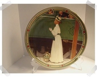 Norman Rockwell Collectible Plate/ 1985 & 1986/Single OR Set of 2 Assorted/Vintage*