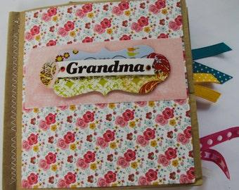 Grandma Paperbag Scrapbook
