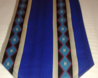 Southwestern Table Runner Reversible and Padded 60x14