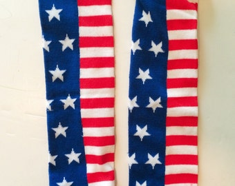 American Flag BeezLegz: Baby/Toddler/Child Leggings & Adult Arm Warmers