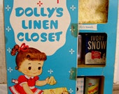 Adorable MY MERRY Dolly's Linen Closet-1957-SALE!