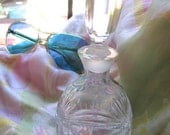 Vintage Waterford Crystal Perfume Bottle /Marquis Crystal Perfume Bottle /Hand Cut Crystal Perfume Bottle