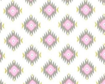 SALE - Michael Miller - Glitz Garden Collection - Glitzy Diamond in Pink