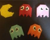 Pac Man Magnet Set