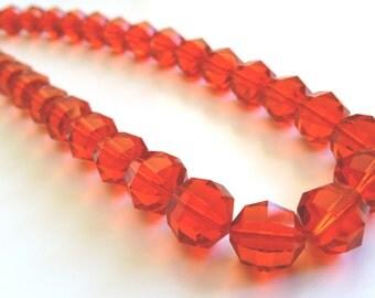 Rare Huge Vintage Swarovski Crystal Art. 199 series Sun Necklace discontinued