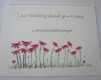 Said a Little Prayer Greeting Card - Five Folded Cards with Envelopes