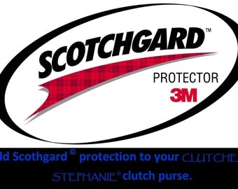 PROTECT IT - Add Scotchgard Protection to your Clutch - *Select Clutches ONLY*
