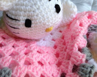 Hello Kitty Lovey Sleepwell Blanket