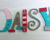 Kids Name Letters - Mixed Font - Nursery Decor - Kids Room Decor - Kids Wall Art