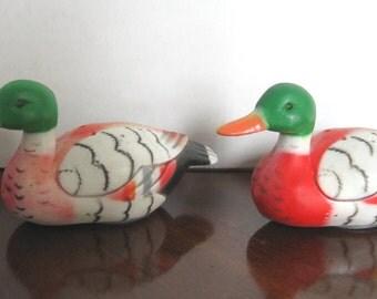 Mallard Ducks Salt and Pepper Shakers