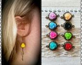SUMMER SALE - Secret Garden Earrings