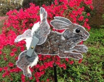 Cottontail Rabbit Whirligig