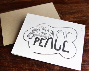 Grace and Peace Notecard set