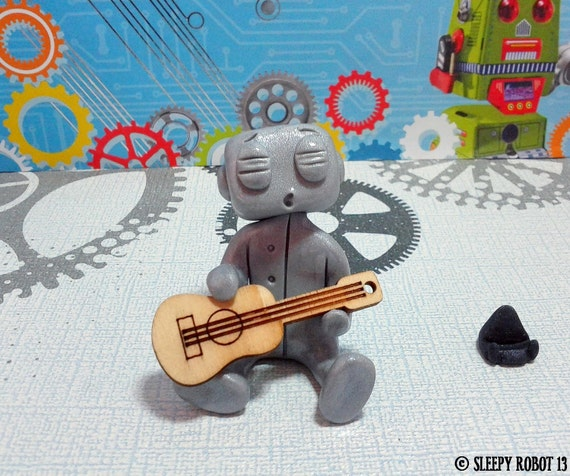 Singing Robot w/ guitar - LAST ONE!
