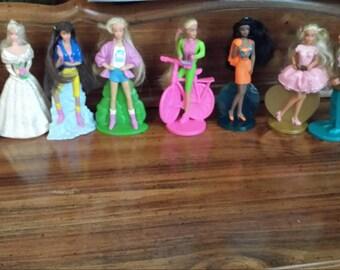 McDonald Happy Meal Barbie Complete Set 1994