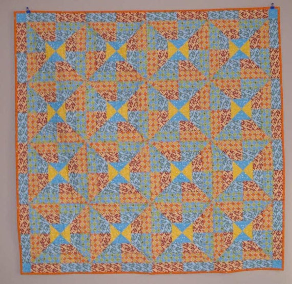 Whirly Gig Quilt Pattern PDF