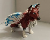 RESERVED Custom Faerie Fox Commission