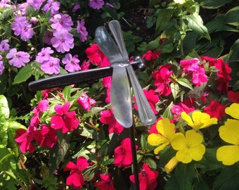 Dragonflies made with Silverware