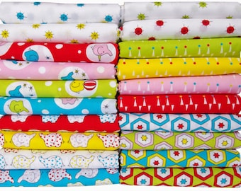 "Backyard Circus Fat Quarter Bundle -  ""Price Reduction"""