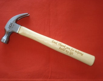 HAMMER for Dad - Great Birthday Gift for Dad,  Father of the Bride, Father of the Groom