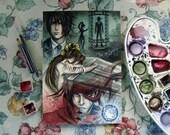 Sorry - Dirge of Cerberus: Final Fantasy VII Fan Art - Original Watercolor Painting featured image