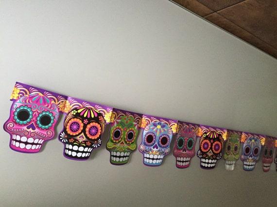 2 day of the dead halloween skulls banner dia de muertos by viva il570xn m4hsunfo