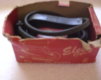 vintage electric iron toy in original box from the fifties
