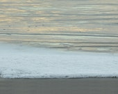 Bubbles on the Sand Seascape Abstract